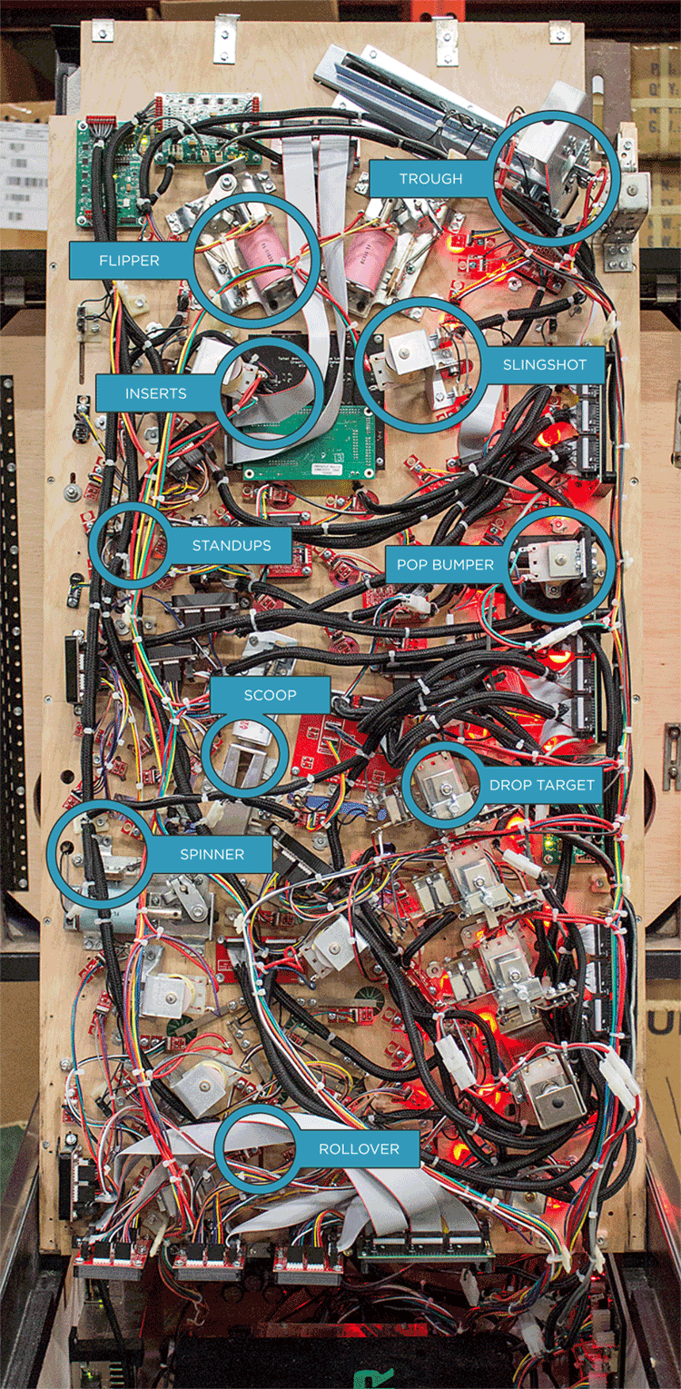 Playfield Underside
