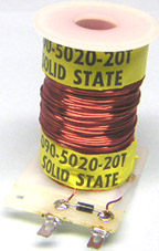 Typical Single-Wound Pinball Coil